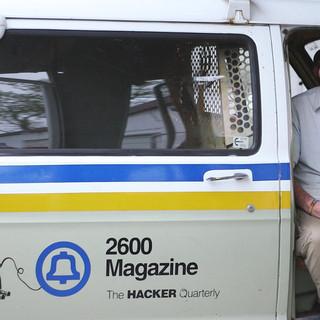 Emmanuel Goldstein- publisher of 2600: The Hacker Quarterly, radio host Off the Hook
