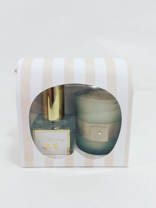 Perfume ambiente Bebê 30 ml com vela aromática