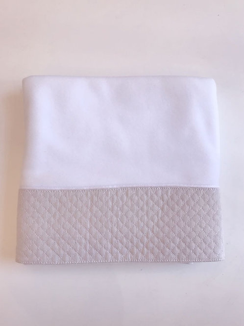 Blanket matelassê bege