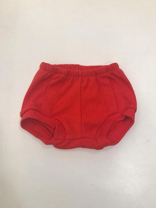 Tapa fralda básico vermelho