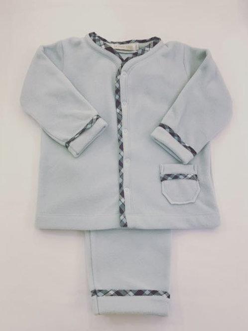 Pijama Microsoft azul bolso