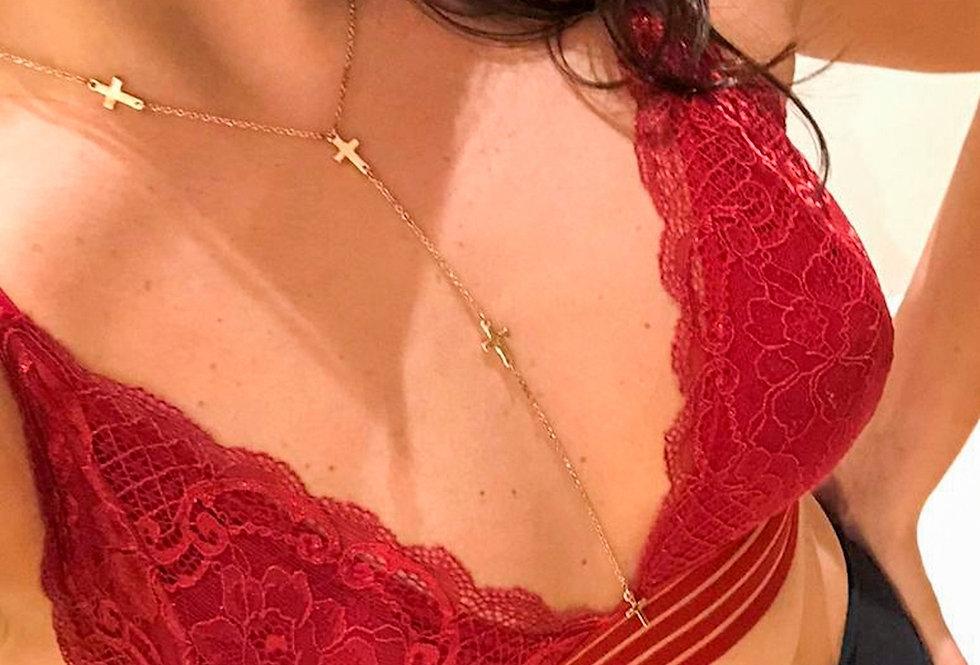 Conjunto Vênus (vermelho)
