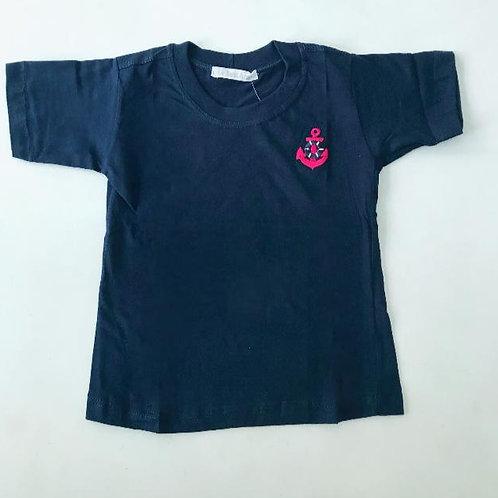 Camiseta marinho Náutica