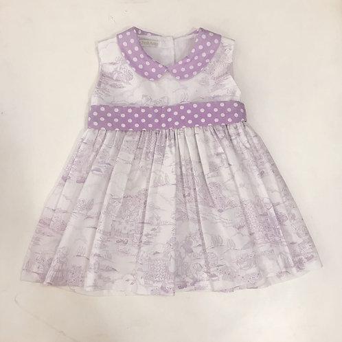 Vestido Toile de Jour lilás