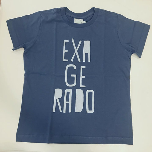 Camiseta masculina exagerado azul