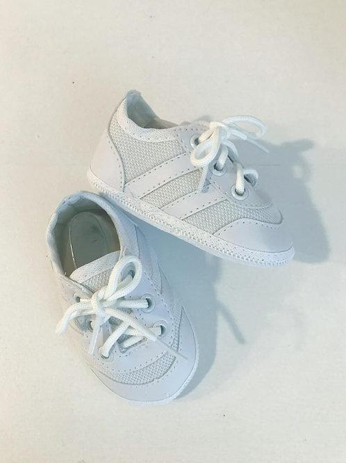 Tênis estilo Adidas branco