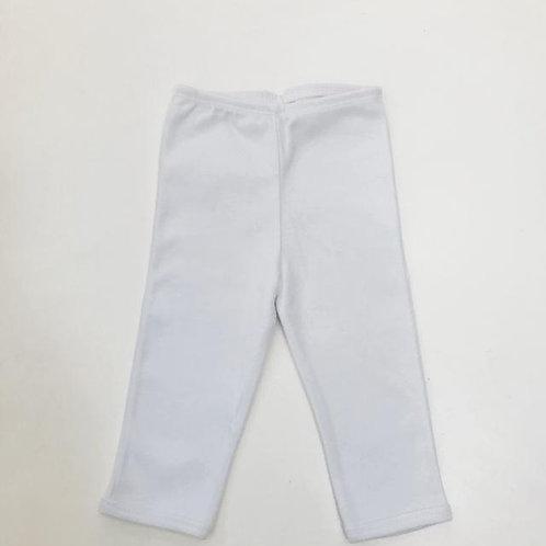 Calça branca sem pé