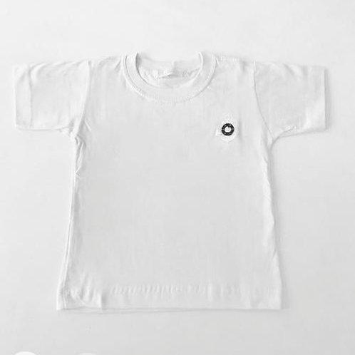 Camiseta branca Náutica