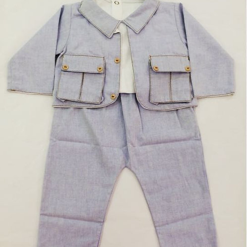Conjunto baby jeans