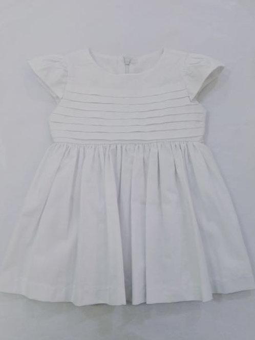 Vestido Lori fustão branco