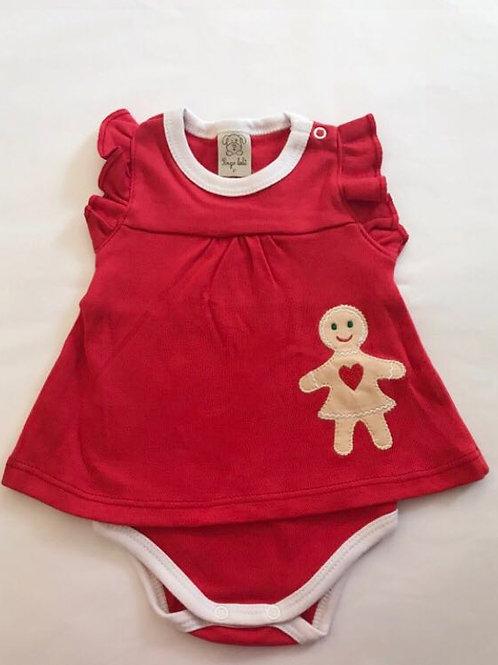 Body vestido bolacha Girl