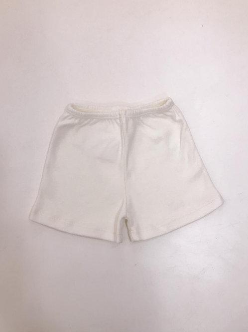 Shorts básico marfim