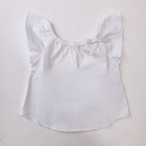 Blusa lacinho branca