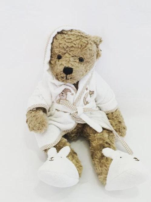 Urso com roupão