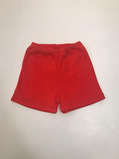 Shorts básico vermelho