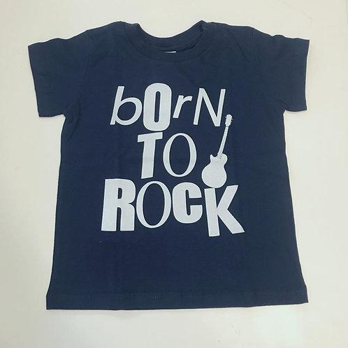 Camiseta masculina marinho born