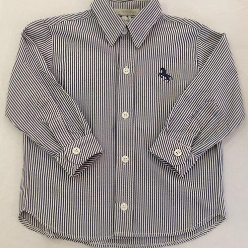 Camisa listrada marinho
