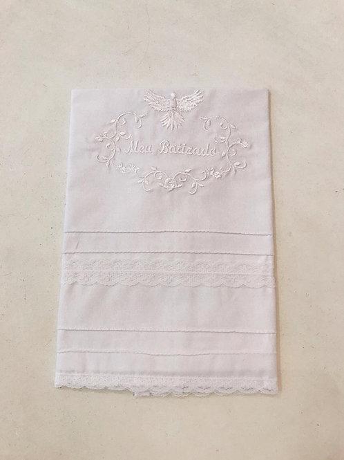 Toalha Batizado branca