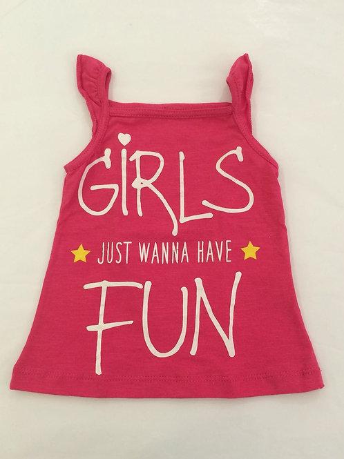 Regata pink girls just wanna have fun
