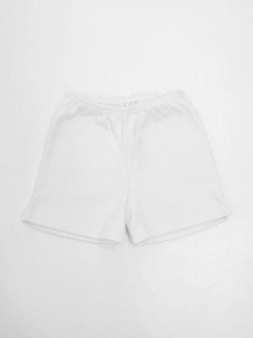Shorts básico branco