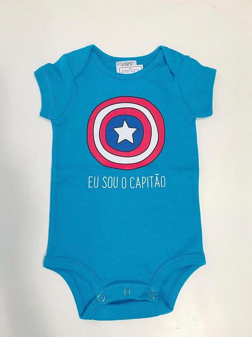 Body Capitão azul