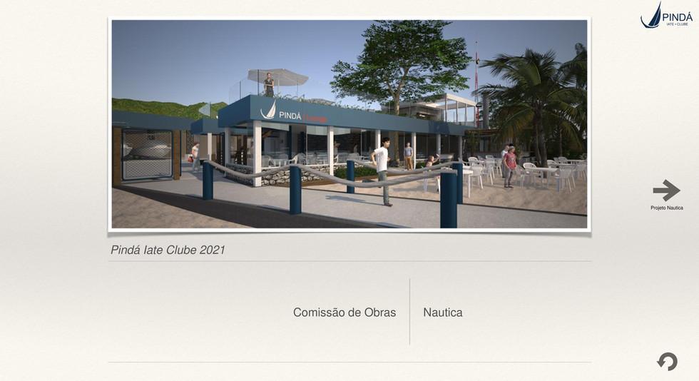 Projeto Pindá Iate Clube — NÁUTICA