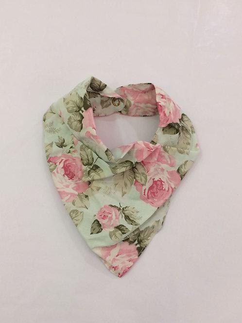 Babador bandana floral