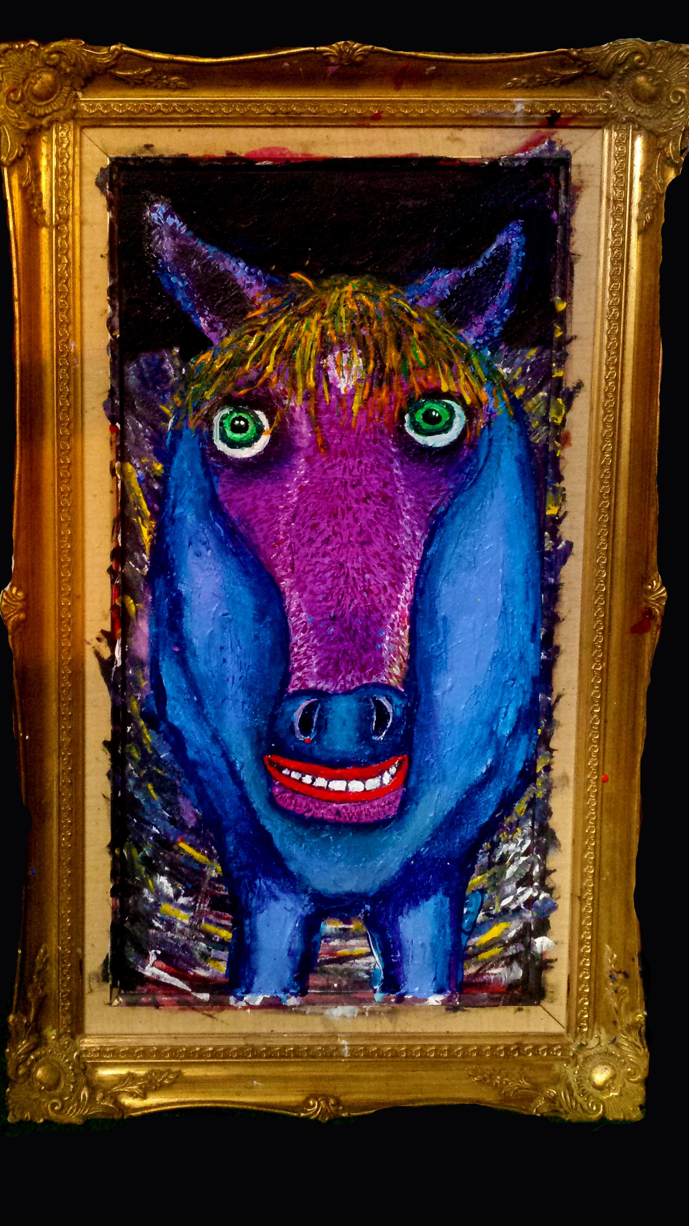 horse w frame
