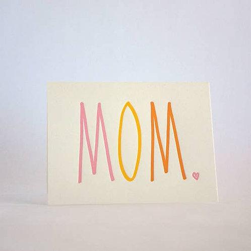 MOM in Rainbow by Fugu Fugu Press