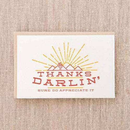Thanks Darlin' Sure Do Appreciate It byPike St. Press