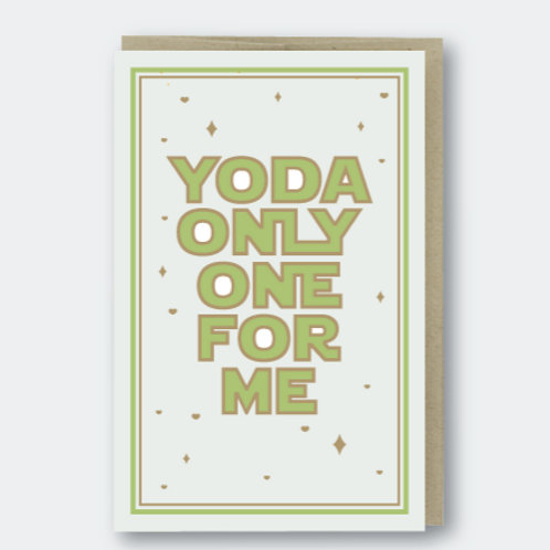 Yoda only one for me - by Pike St. Press