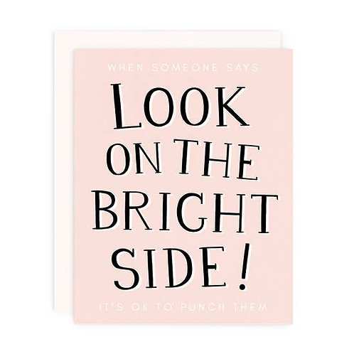 Look on the Bright Side! by Girl w/ Knife