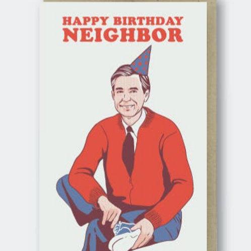 Happy Birthday Neighbor By Pike St. Press