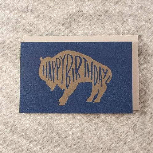 HBD Buffalo by Pike St Press