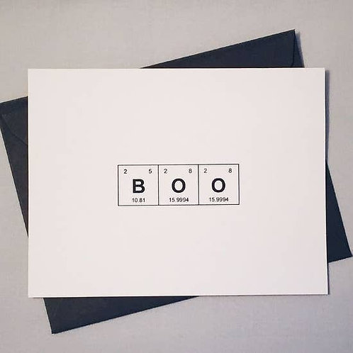 BOO by theBird+theBeard
