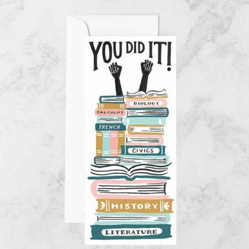 You Did It! Grad Card by Idlewild