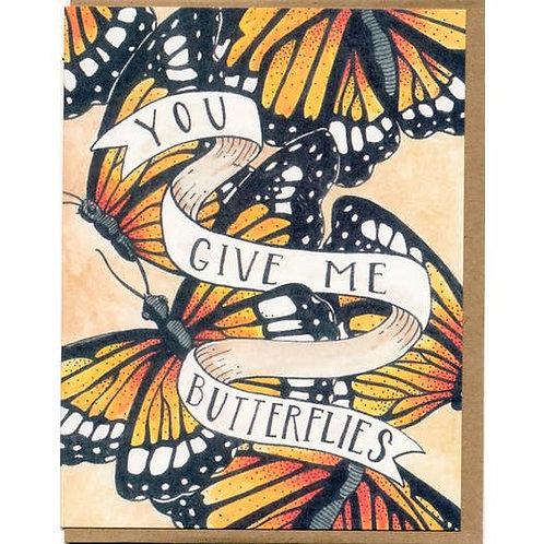 You give me butterflies - by Mattea