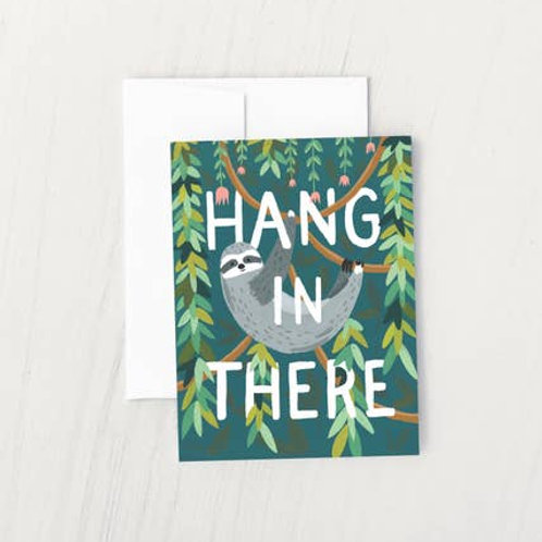Hang In There Sloth by Idlewild