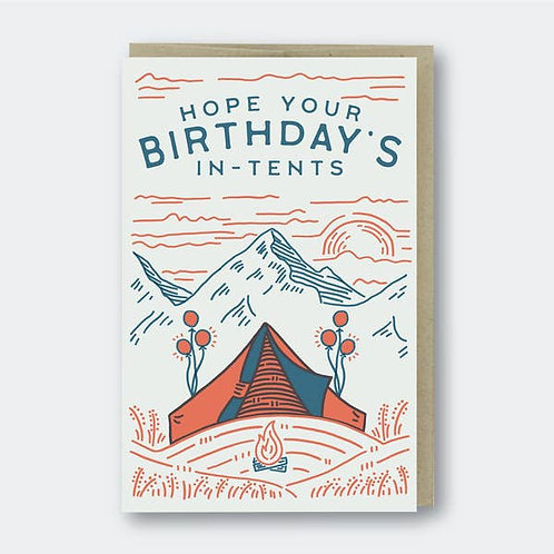 Hope Your Birthday is In Tents by Pike St Press