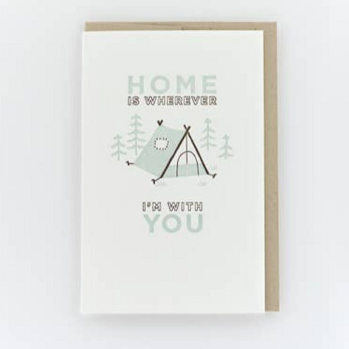 Home is wherever I'm with you By Pike St.