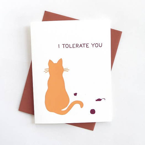 I tolerate you -by Middle Dune