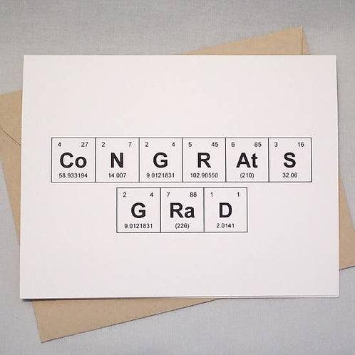 Congrats Grad by theBird+theBeard