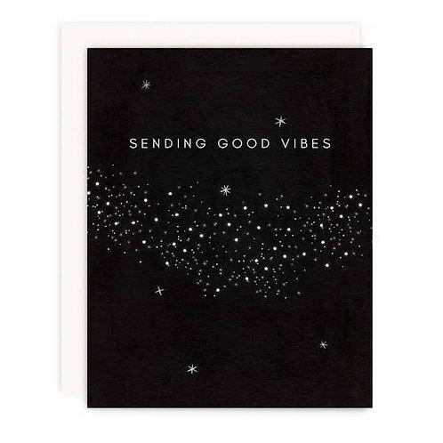 Sending Good Vibes by Girl w/ Knife