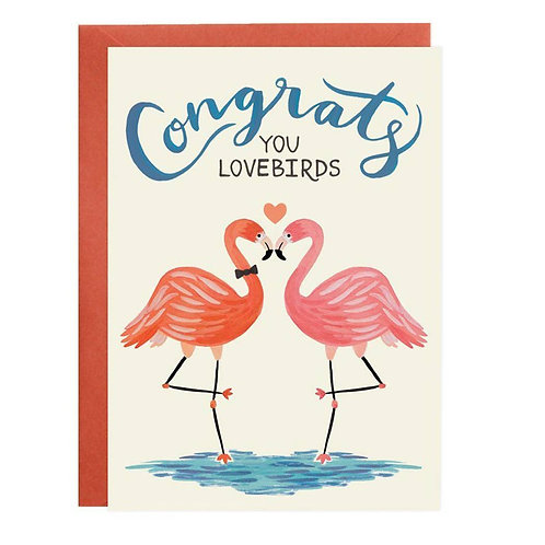 Congrats Lovebirds by Lovelight