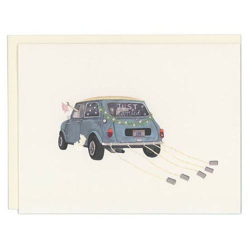 Just Married VW by Good Postage