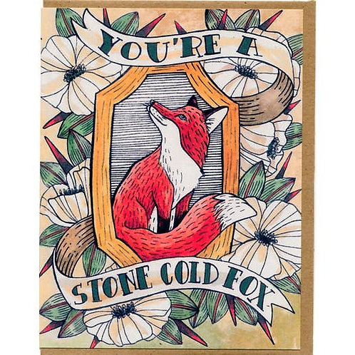 You're a stone cold fox - by Mattea