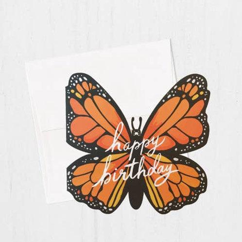 Happy Birthday Monarch Butterfly by Idlewild