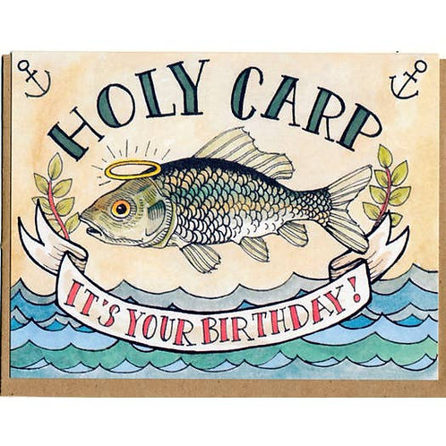 Holy carp! It's your birthday - by Mattea
