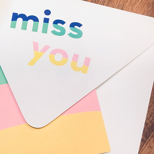 """Miss You Notevelope by My Darlin"""""""