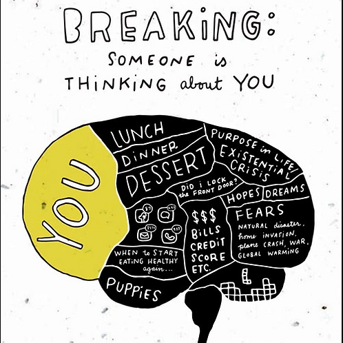 Breaking: Someone Is Thinking About You